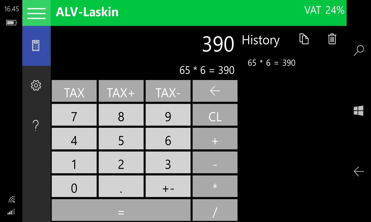ALV-Laskin (2016)